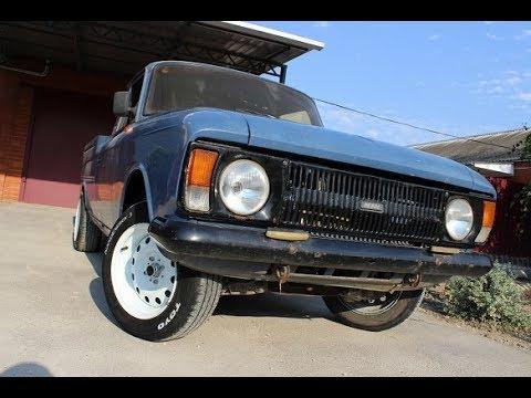 РУССКИЙ ПИКАП Свап двигателя и ходовой от ВАЗ, трансформация кузова, установка разварок!