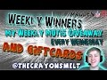 "WEEKLY WINNERS! PLUS GIFT CARD WINNERS! ""MUT 15 ELITE GIVEAWAY"" -- ""MUT 15 GIVEAWAY"""