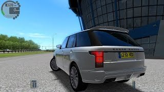 getlinkyoutube.com-City Car Driving 1.4.1 Range Rover STARTECH Autobahn [G27]