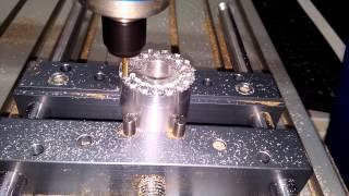 getlinkyoutube.com-Testa cilindro Komatsu WA500