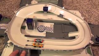 getlinkyoutube.com-Micro Machines Jeff Gordon Speedway Rig Semi Truck Ultimate Racing City Playset by Hasbro