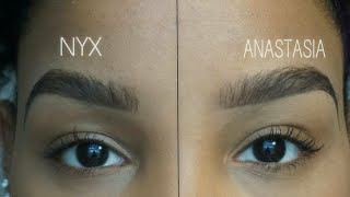 getlinkyoutube.com-NYX vs. ANASTASIA Eyebrow Tutorial