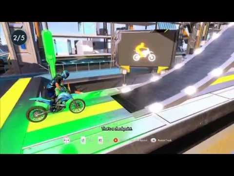 Let's Play Trials Fusion: Episode 1 - The Future!