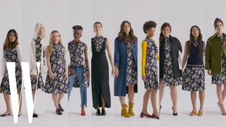 10 Women Wear the Exact Same Dress | W Magazine