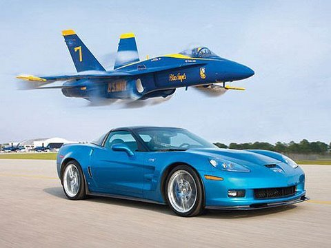 Zr1 Vette Vs Jet! - Chevrolet Corvette Zr1 Races A U.s. Navy