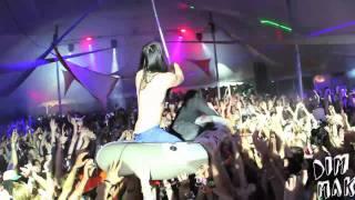 getlinkyoutube.com-STEVE AOKI & SKRILLEX RAVE RAFTING AT STARSCAPE MUSIC FESTIVAL 2011