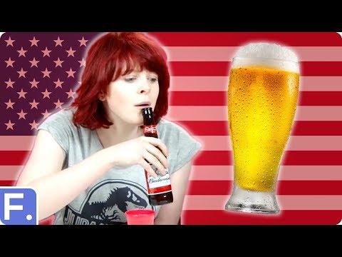 Tasting American beers Irish style