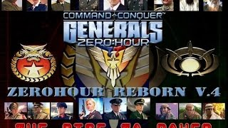 Generals Zero Hour Reborn v4.0 Rise to Power mod - Assault General