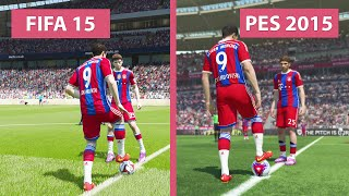 getlinkyoutube.com-FIFA 15 vs. Pro Evolution Soccer 2015 Comparison