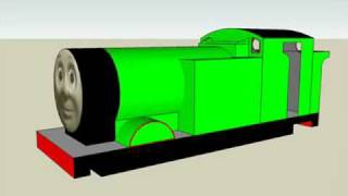 getlinkyoutube.com-Thomas The Tank Engine on Google Sketchup