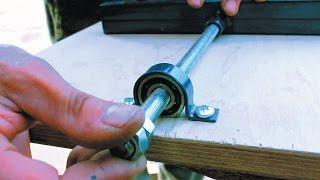 getlinkyoutube.com-Самодельный фрезерный станок по дереву своими руками Часть 2 Homemade milling machine for wood
