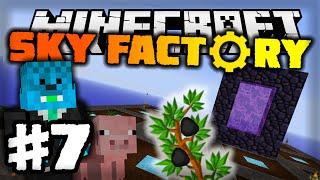 getlinkyoutube.com-Minecraft: SADIMO UGALJ I SVINJE xD [#7] SKY FACTORY 2