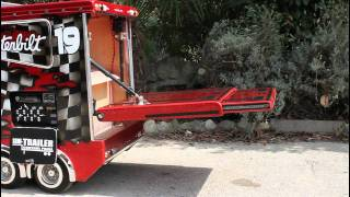 getlinkyoutube.com-TruckModel Peterbilt 359 RC 1:4 Electric Ramp
