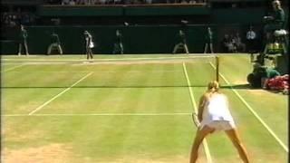getlinkyoutube.com-Maria sharapova vs Serena Williams Wimbledon 2004 final