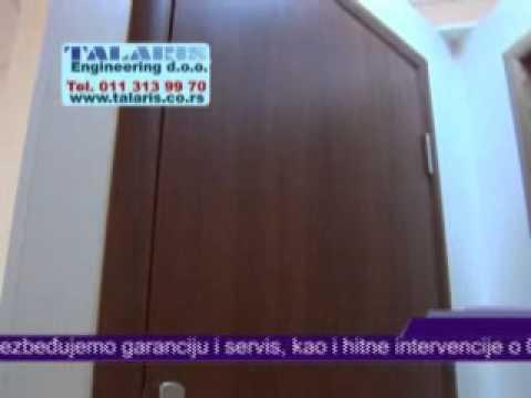 Sobna vrata - Talaris Beograd, pregradna vrata, klizna vrata