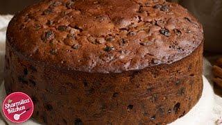 getlinkyoutube.com-Rum Fruit & Nut Cake | Plum Cake l Traditional Christmas Cake Recipe |  Sharmilazkitchen