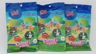 getlinkyoutube.com-Littlest Pet Shop Cutest Pets Blind Bags