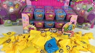 getlinkyoutube.com-Shopkins Season 1 & 2 Full Box Palooza Blind Bag Basket 2 Pack Unboxing Toy Review