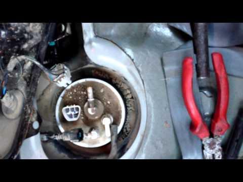 Замена сетки бензонасоса на Hyundai Accent