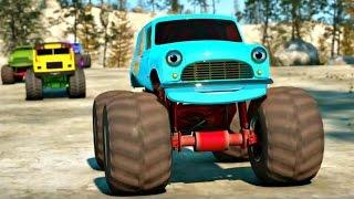 getlinkyoutube.com-Развивающие мультфильмы про машинки. Самые крутые гонки на машинах. Часть 3.