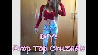 getlinkyoutube.com-DIY: Crop Top Cruzado