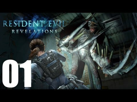 Resident Evil Revelations - Walkthrough Part 1 Gameplay Let's Play [1080p]