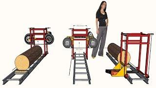 getlinkyoutube.com-Free mini sawmill plans