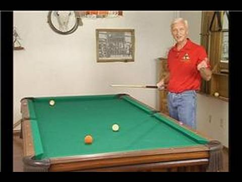 Billiards: Basic Shot Making : Staying Down on a Pool Shot