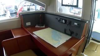 getlinkyoutube.com-2012 Leopard 48 Catamaran toured at the Annapolis Sailboat Show by ABK Video