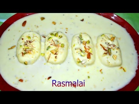 Rasmalai Recipe Video - PriyasRasoi.Com
