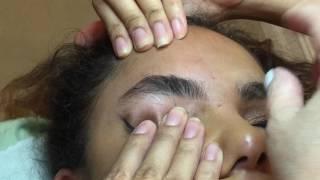 getlinkyoutube.com-Super thick | eyebrow threading