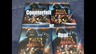 Counterfeit Blu Ray from eBay