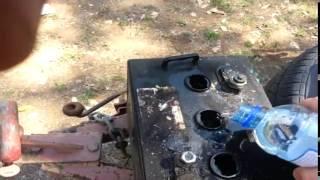 getlinkyoutube.com-How to use Epsom Salts to revive old or dead 6 / 12v volt Golf Cart / Car Batteries.