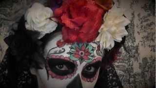 getlinkyoutube.com-Conviértete en La Catrina | Sugar Skull