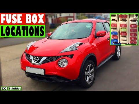 Nissan Juke Fuse Box Location and How to check fuses on Nissan Juke