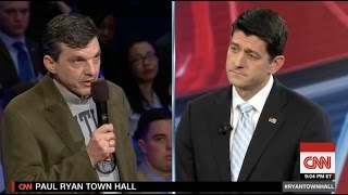 getlinkyoutube.com-Paul Ryan Confronted by Cancer Patient Over Repeal of Obamacare