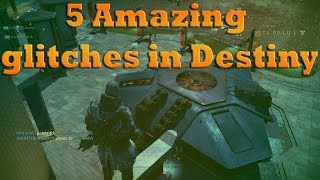 Destiny - How to do 5 Amazing Glitches/Jumps and spots + Tower glitch
