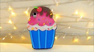 getlinkyoutube.com-Manualidades faciles: forro de celular o movil en forma de cupcake con foami o goma eva | Isa ❤️