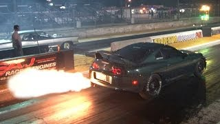 getlinkyoutube.com-900hp FLAME THROWER Supra