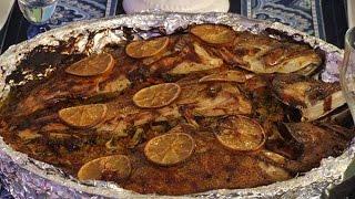 getlinkyoutube.com-سمك بالفرن - مطبخ منال العالم