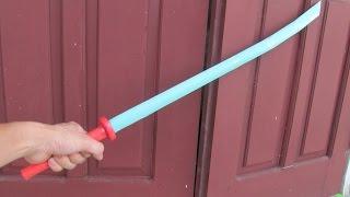 getlinkyoutube.com-Comment créer une épée katana japonais en utilisant du papier