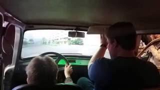getlinkyoutube.com-Trabant Driving Simulator. Berlin. Germany. 2015-10-07
