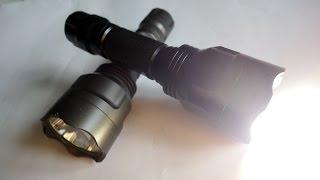 getlinkyoutube.com-Мощный светодиодный фонарь своими руками!