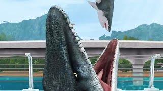 Jurassic World - The Game: MOSASAURUS Pack! Evolution 1!