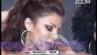 "getlinkyoutube.com-Haifa Wehbe ""Makhatesh Bali"" (I Didn't Notice) HQ, subtitles English مخدتش بالی"