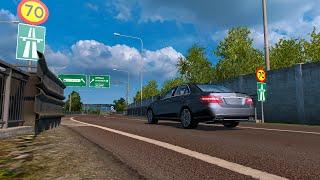 getlinkyoutube.com-MERCEDES E63 AMG (Car Mod) | ETS2 1.17 → 1.20
