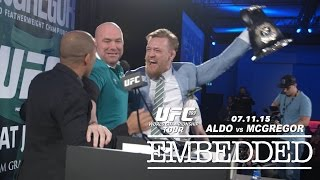 getlinkyoutube.com-UFC 189 World Championship Tour Embedded: Vlog Series - Episode 10
