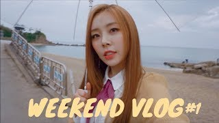 Weekend performing in Gangwon province & The Rose concert🌹// vlog #1