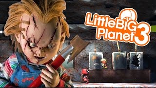 getlinkyoutube.com-CHILD'S PLAY WITH EVIL CHUCKY!!! | Little Big Planet 3 (PS4) Multiplayer Gameplay