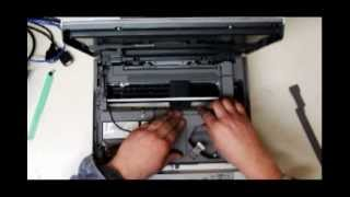 getlinkyoutube.com-disassembling brother  dcp-145c dcp-195c